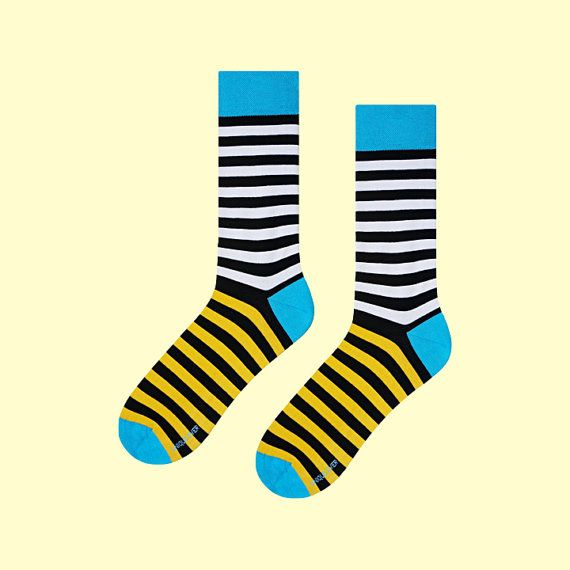 Toucan Socks | mens socks | casual socks | cool socks | striped socks | women socks | patterned socks | colorful socks | cotton socks