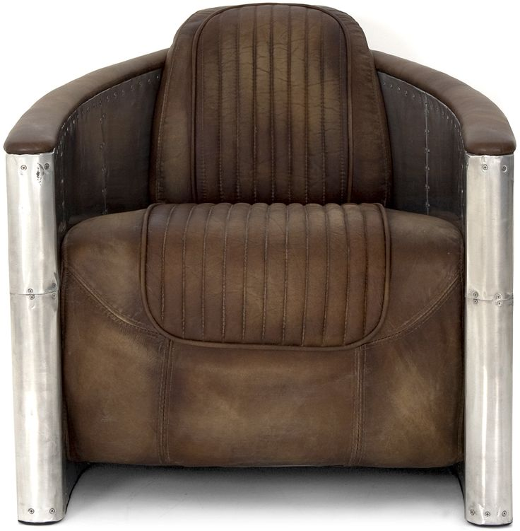 Aviator Tom Cat Chair - When you sit on this you are instantly a bamf.
