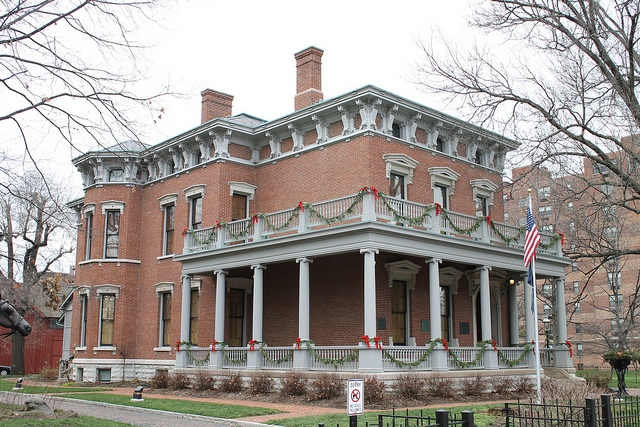 President Benjamin Harrison House, 1874 Indianapolis