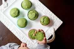This toddler-approved green muffin recipe is loaded with almonds, spinach, eggs, and coconut oil, providing healthy fats, iron, vitamins A and D, and calcium all in one bite.