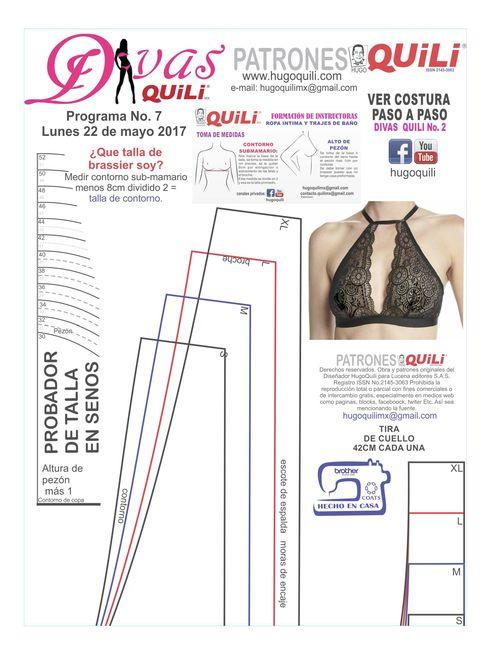 Tienda online de Hugo Quili, donde encontaras todo lo relacionado a la elaboracion de ropa intima  einsumos.