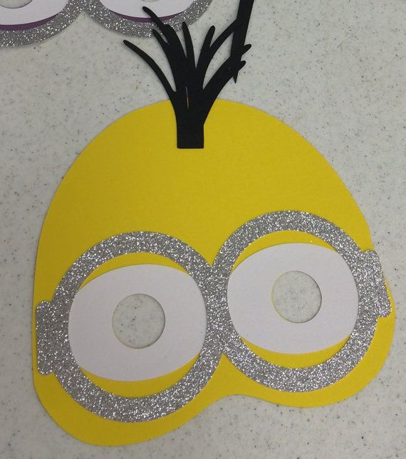 5 Yellow Minion Despicable Me Photo Props by LeslisDesigns on Etsy, $15.00