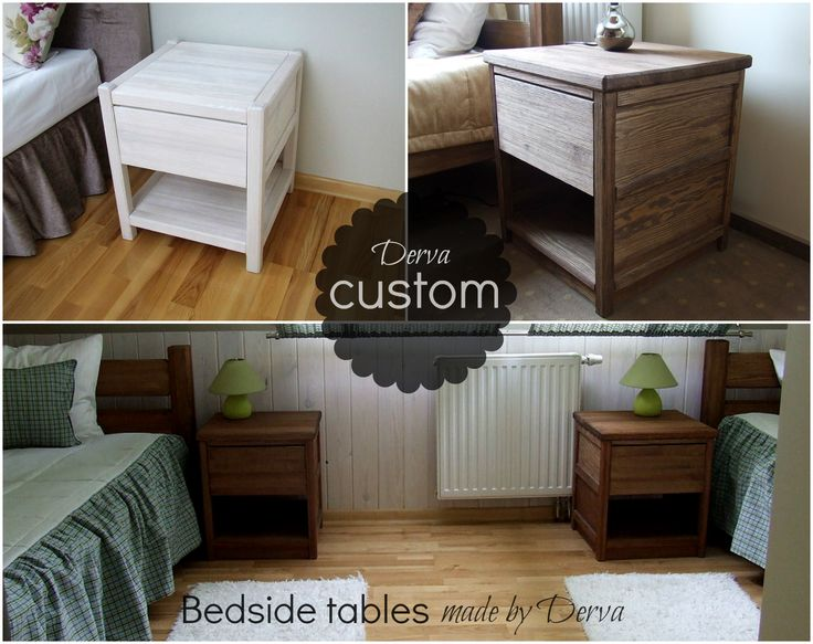 Custom bedsides. Made by Derva