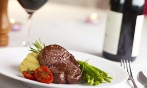 Groupon - Main Meal with a Bottle of Wine from R279 for Two at The Baron Fredman Drive (Up to 51% Off) in The Baron Fredman Drive . Groupon deal price: R279