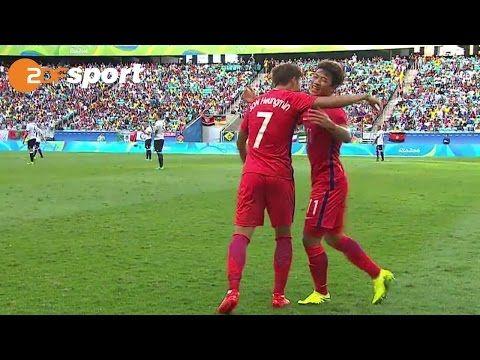 Deutschland : Südkorea - 3 : 3   Fußball Männer   ZDF – Olympia Rio2016…