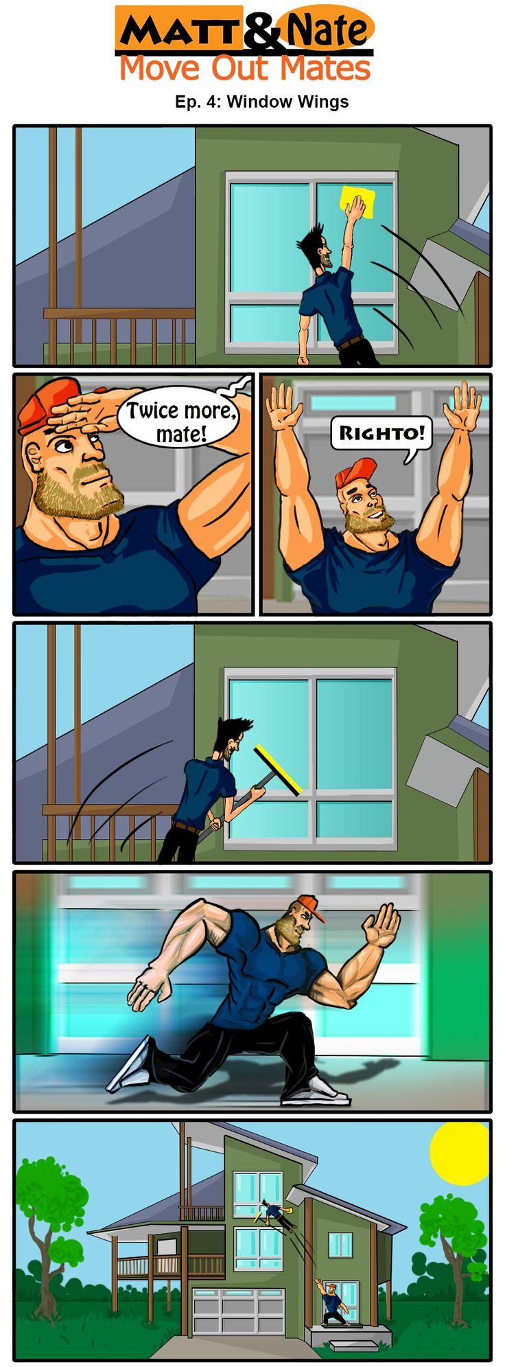 The Mates Clean windows