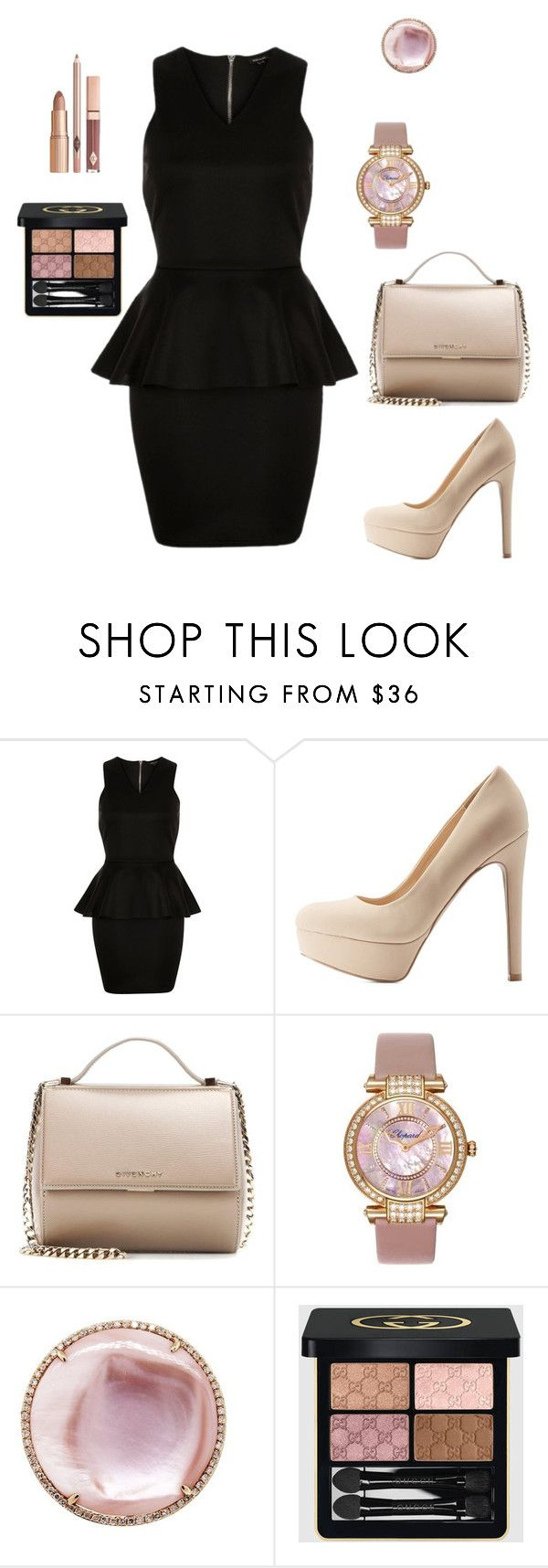 Бизнес кэжуал  Клубника by gala-bell on Polyvore featuring Qupid, Givenchy, Chopard, Gucci, women's clothing, women's fashion, women, female, woman and misses