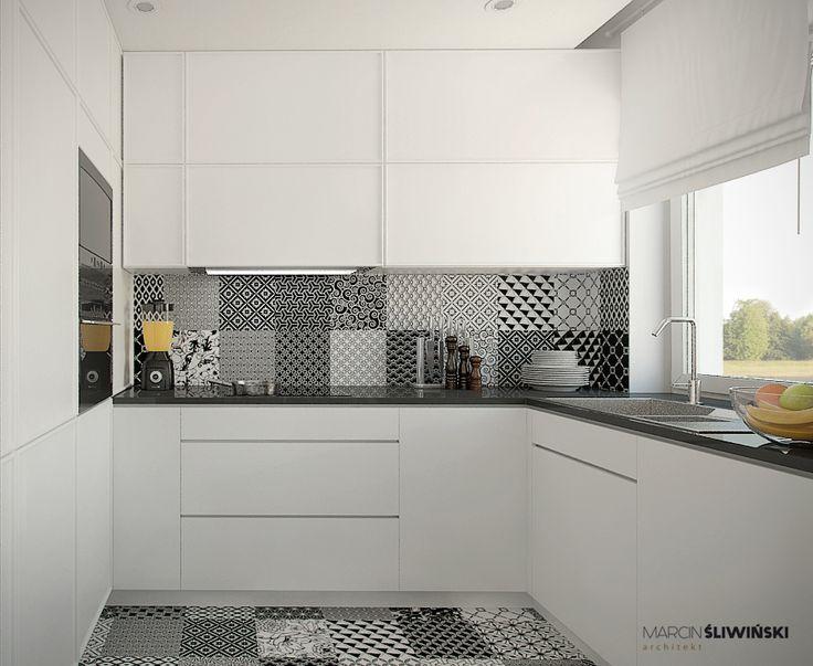 Kitchen - Kuchnia; interior design architect Marcin Śliwiński Poland;  https://www.facebook.com/architectmarcinsliwinski?fref=ts