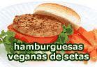 Hamburguesas veganas de setas :: recetas veganas recetas vegetarianas :: Vegetarianismo.net