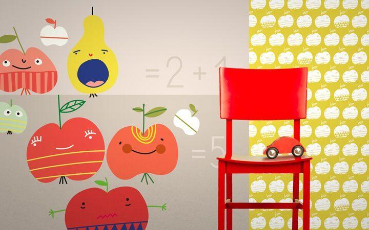 kolekce Apples - designové tapety DecorPlay