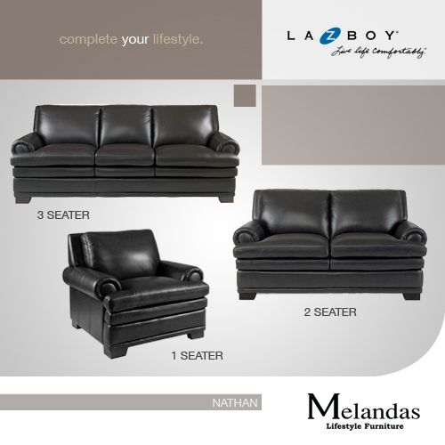 The Nathan sofa set is a great addition for any modern themed living room decor.