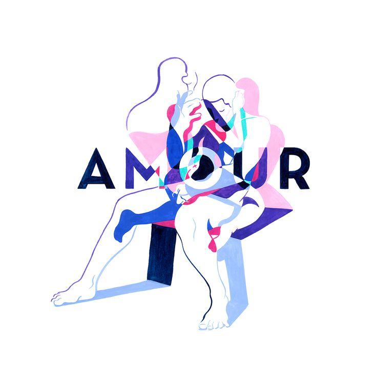 Amour on Behance
