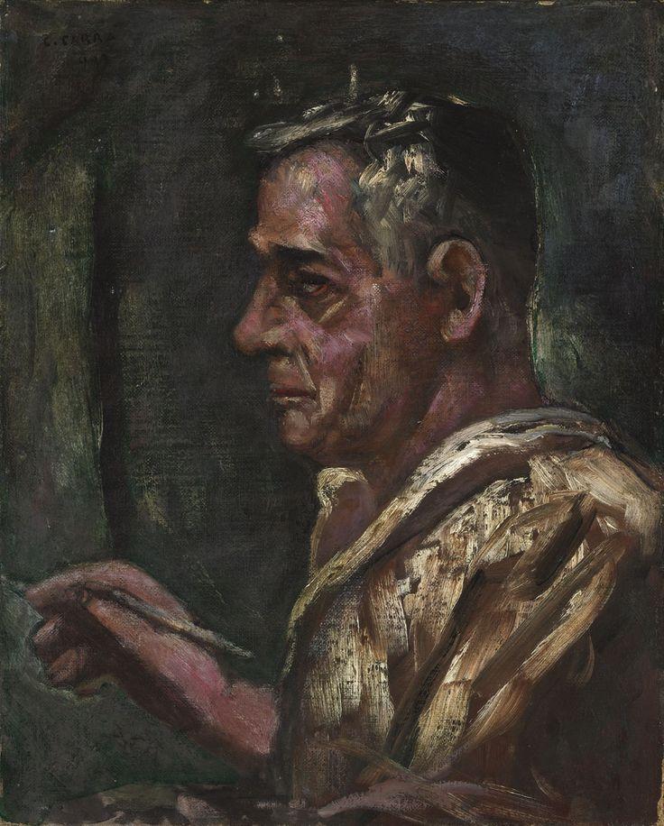 Carlo Carrà - Self Portrait, 1933