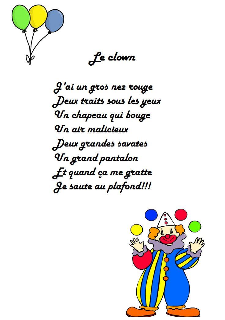 Comptine le clown J'ai un gros nez rouge en versions imprimables illustrées. Retrouvez toutes les chansons et comptines en musique et en images. Dessine-moi une histoire