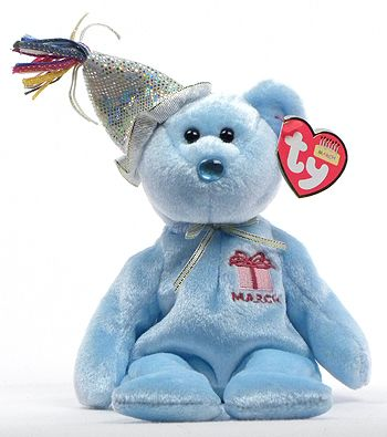 4dabb7e7063 March (birthday) - 2nd series - Ty Beanie Babies