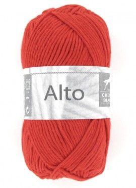Fil à tricoter spécial été ! ALTO : un fil fin et classique pour se confectionner des petits hauts colorés et des robes d'été !