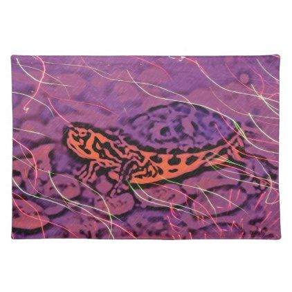 Purple Turtle Placemat - photos gifts image diy customize gift idea