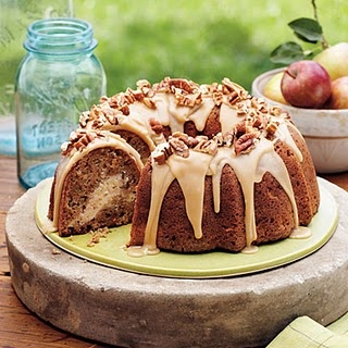 Apple-Cream Cheese Bundt Cake | Cake Ideas and misc desserts! | Pinte ...