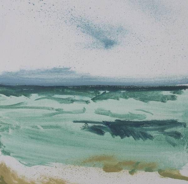 Green Sea Porthmeor | Lucie Bray