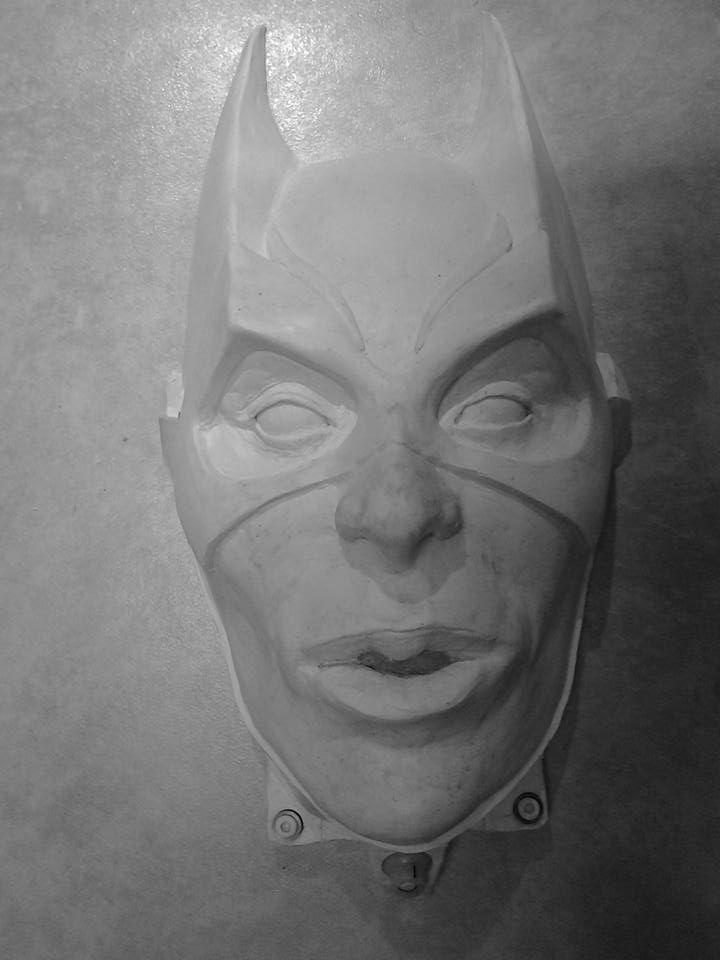Super Girl Sculpture done by Kobus Deysel, Aspris! Art.  To order or commission, please e-mail kobus.deysel@gmail.com