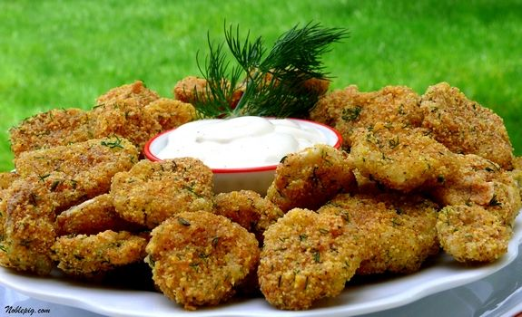 FRIED PICKLES!: Appetizers Antipasti, Easy Gluten Free, Gluten Free Fries Pickled, Deep Fries, Noble Pigs, Pickled Recipes, Cooking, Fried Pickles, Parties Food