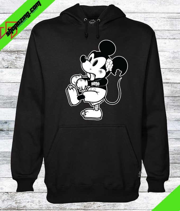 58278431839e Zombie Mickey Mouse Hoodie in 2019