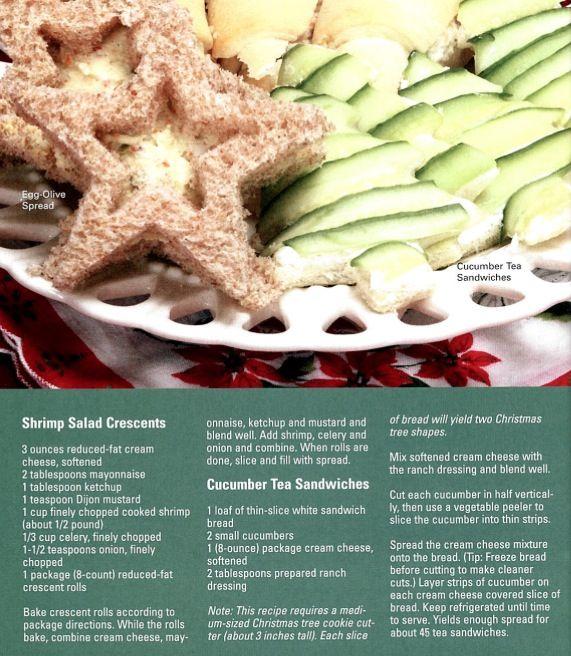 Shrimp salad & cucumber tea sandwiches   Recipes - Appetizers   Pinte ...
