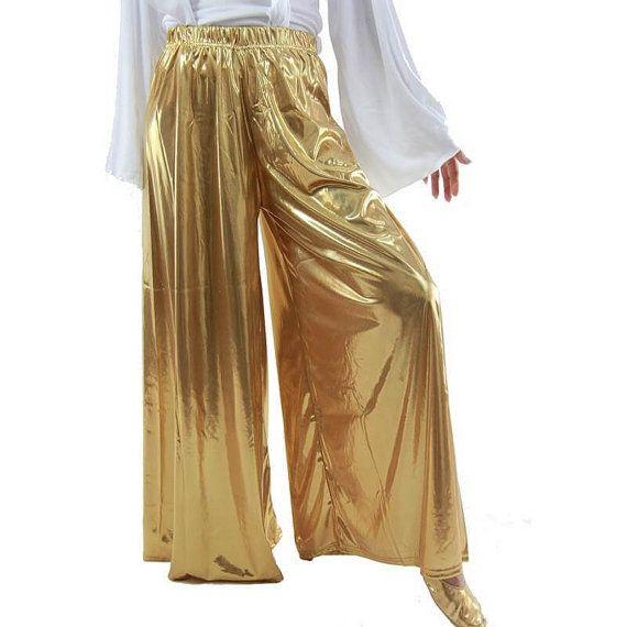 Manquez pas PALAZZO danse pantalon Christian, louange, adoration du vêtement, et Plus de tailles, petit par 3 x, or, rouge, noir, blanc et couleurs