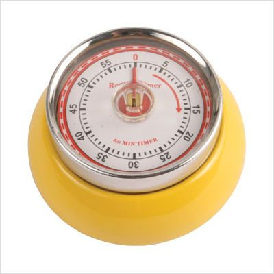 Kikkerland Yellow Kitchen Timer from Anthropologie (i own it.)
