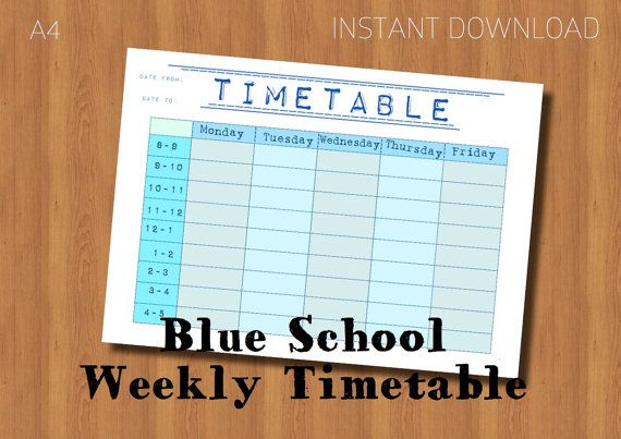 best 25 school timetable ideas on pinterest. Black Bedroom Furniture Sets. Home Design Ideas