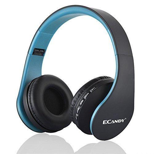 Oferta: 23.99€ Dto: -75%. Comprar Ofertas de Ecandy Bluetooth para auriculares estéreo V4.0 Música plegable Over-oreja sonido de alta fidelidad Calling construido en Mirc barato. ¡Mira las ofertas!