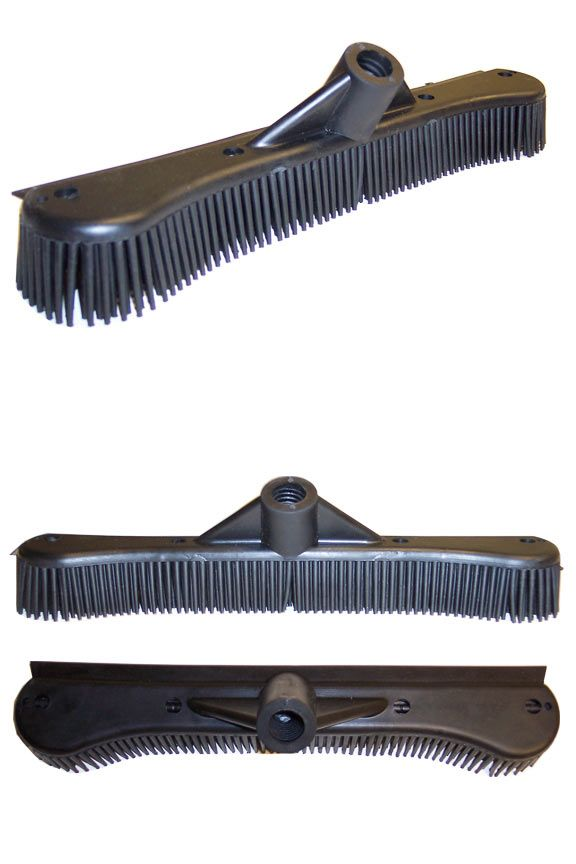 Rubber Broom Head: A Powerful Tool. Get The Sweepa Rubber Head Without A Pole.