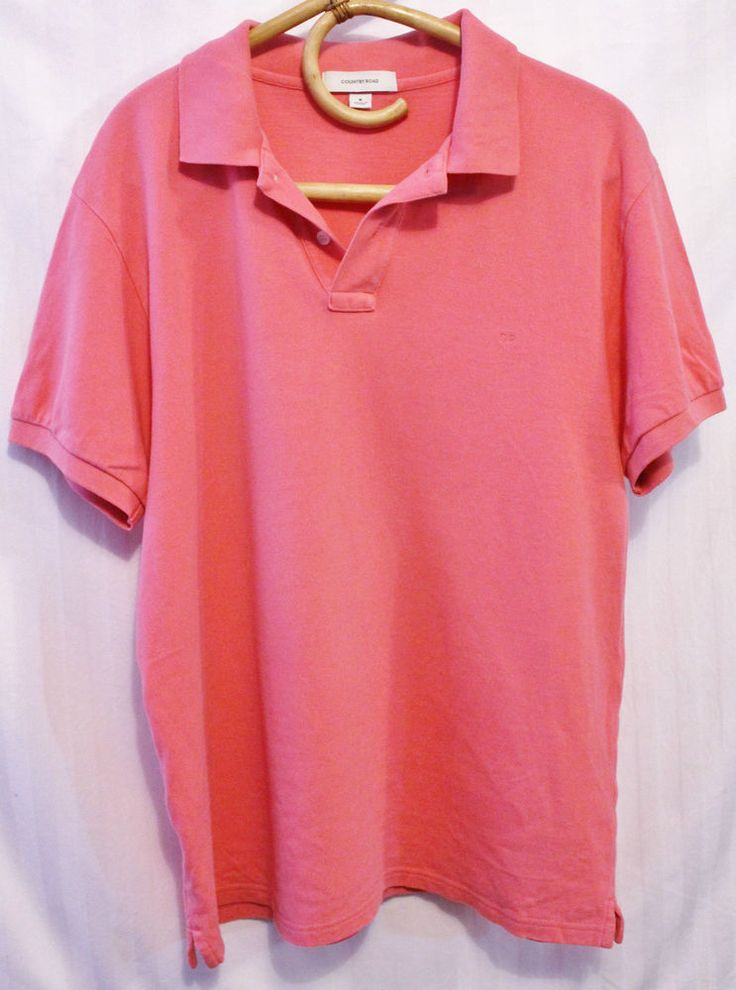 Sold country road men s polo shirt size m summer dressy for What stores sell polo shirts