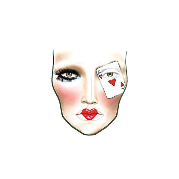 MAC Poker Face « CultureOfCute ❤ liked on Polyvore