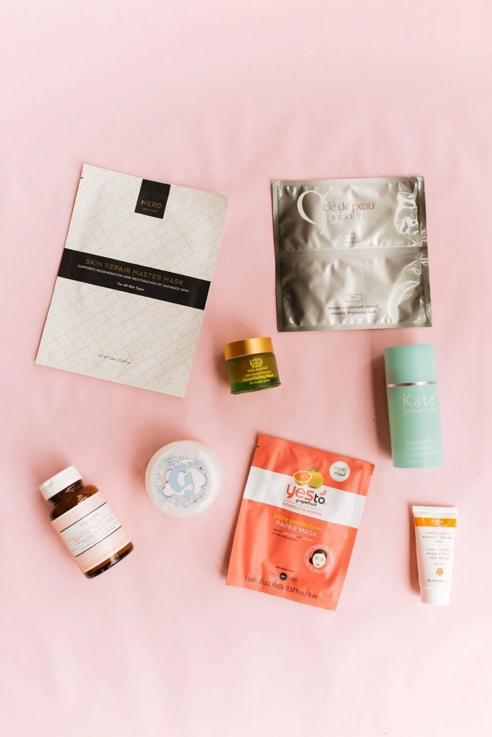 The best masks to use from your head to your toes   theglitterguide.com: