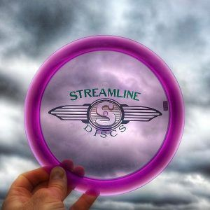 Streamline Discs' first distance driver, a review of the Streamline Discs Trace