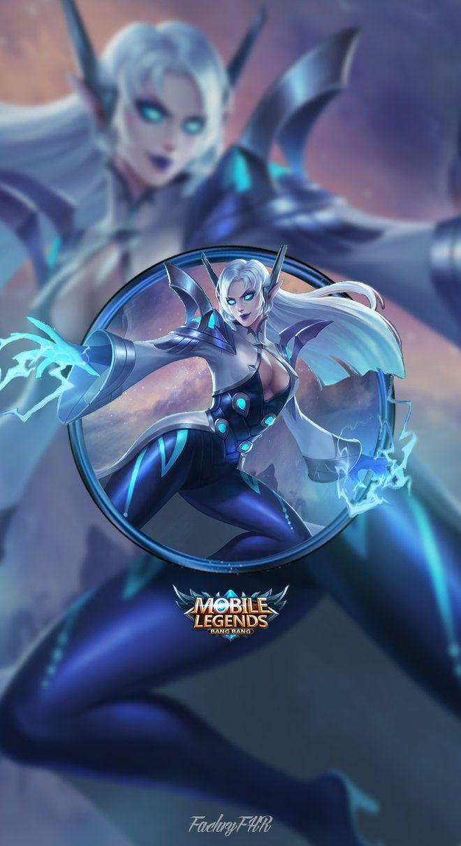 Wallpaper Phone Eudora Lightning Sorceress By Fachrifhr Legend