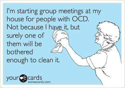 Idea!!: Ocd, Good Ideas, Clean, Quotes, Funny Stuff, Funnies, Humor