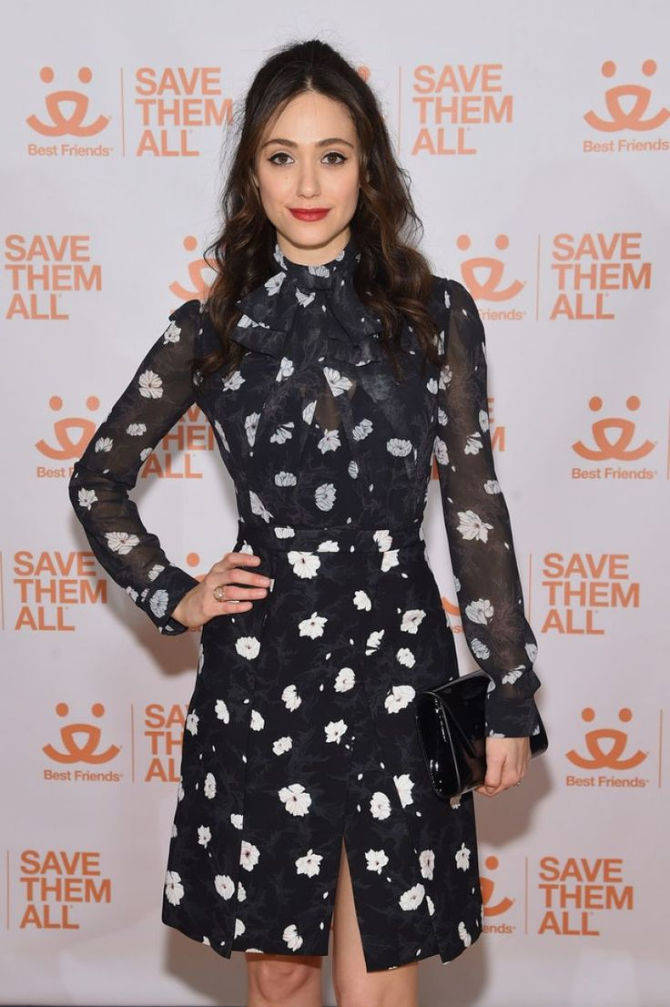 Emmy Rossum in Carven - 2017 Best Friends Benefit To Save Them All