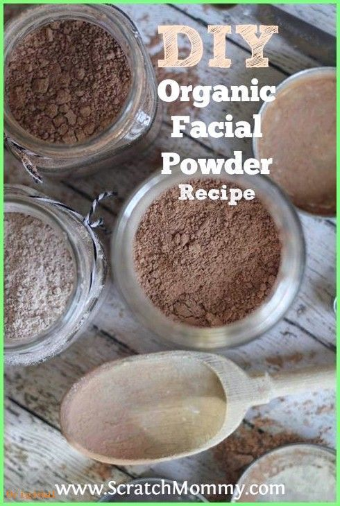 50+ Skin Care - DIY Organic Face Powder Recipe. This bad girl contains only ...  -  Hautpflege-Rezepte