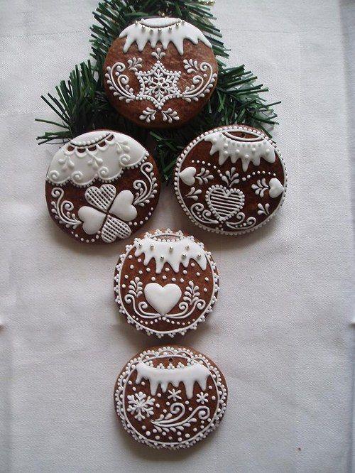 Perníček - vánoční ozdoba