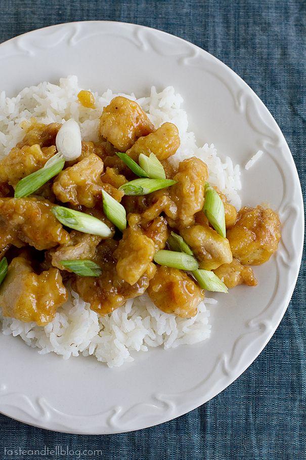 Chicken Oriental | www.tasteandtellblog.com Similar to Orange Chicken
