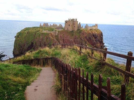 Il castello di #Dunnottar #scozia #scotland