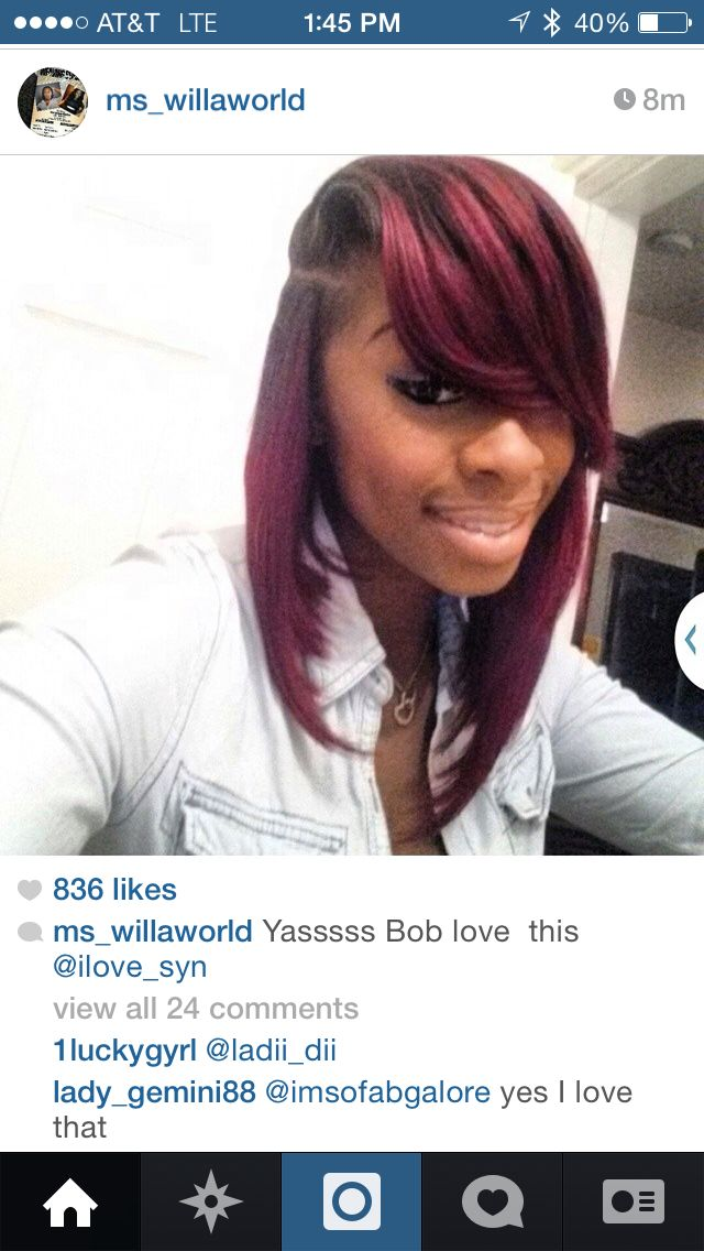 In Love With This Bob I Saw On Ig Slayed Bobs
