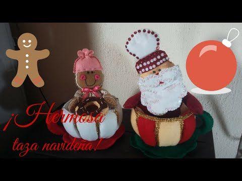 Hecho con Estilo 21 de Agosto   Manualidad   Muñecos Navideños - YouTube
