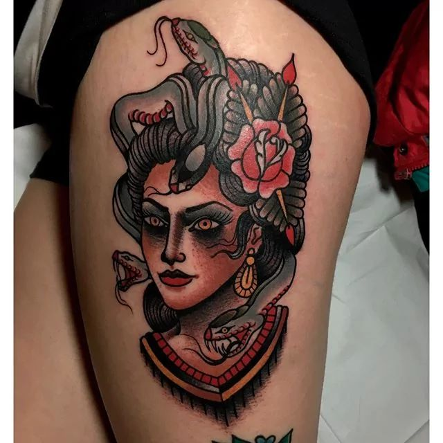 Wicked Medusa Tattoos