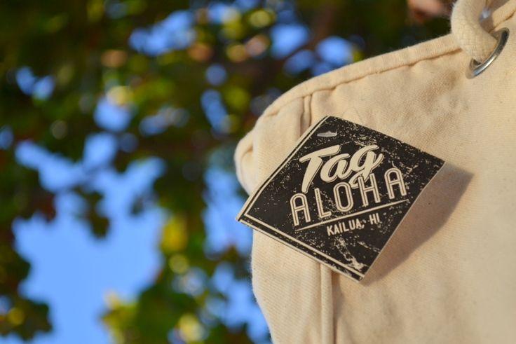 Tag Alohaタグアロハ*ハワイ限定トートバッグ