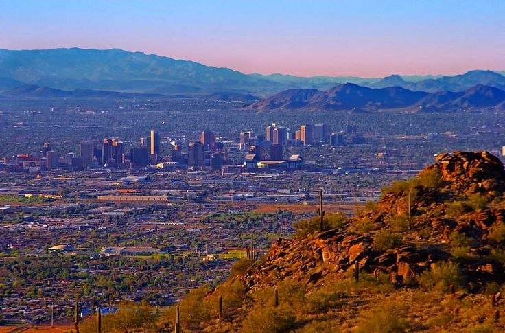 Phoenix, AZ So many great hiking trails all around the Valley! Someday I will retire and live at the bottom of one of these mountains!