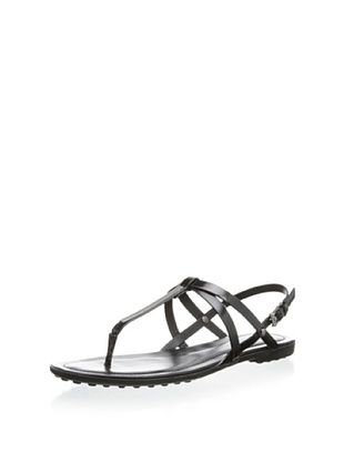 40% OFF Tod's Women's Strappy Sandal (Nero)