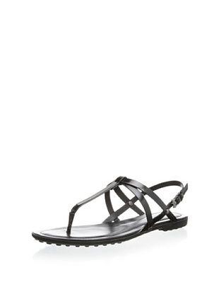 40% OFF Tod's Women's Strappy Sandal (Nero)